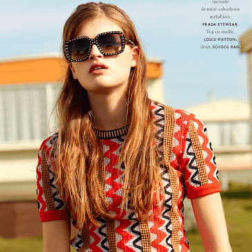 FASHION AND BEAUTY EDITORIAL FRENCH ELLE