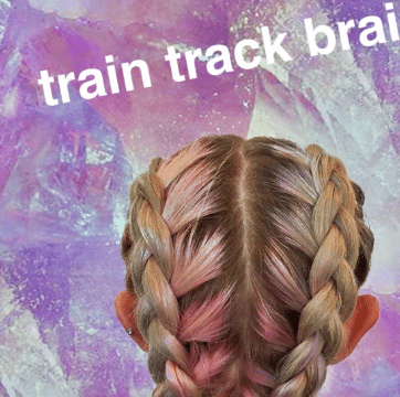 How To: Train Track Braids