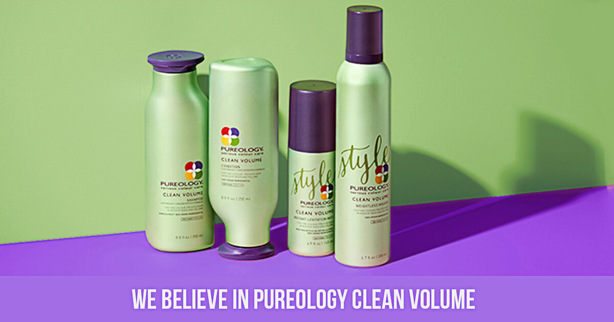 Pureology Clean Volume Weightless Mousse