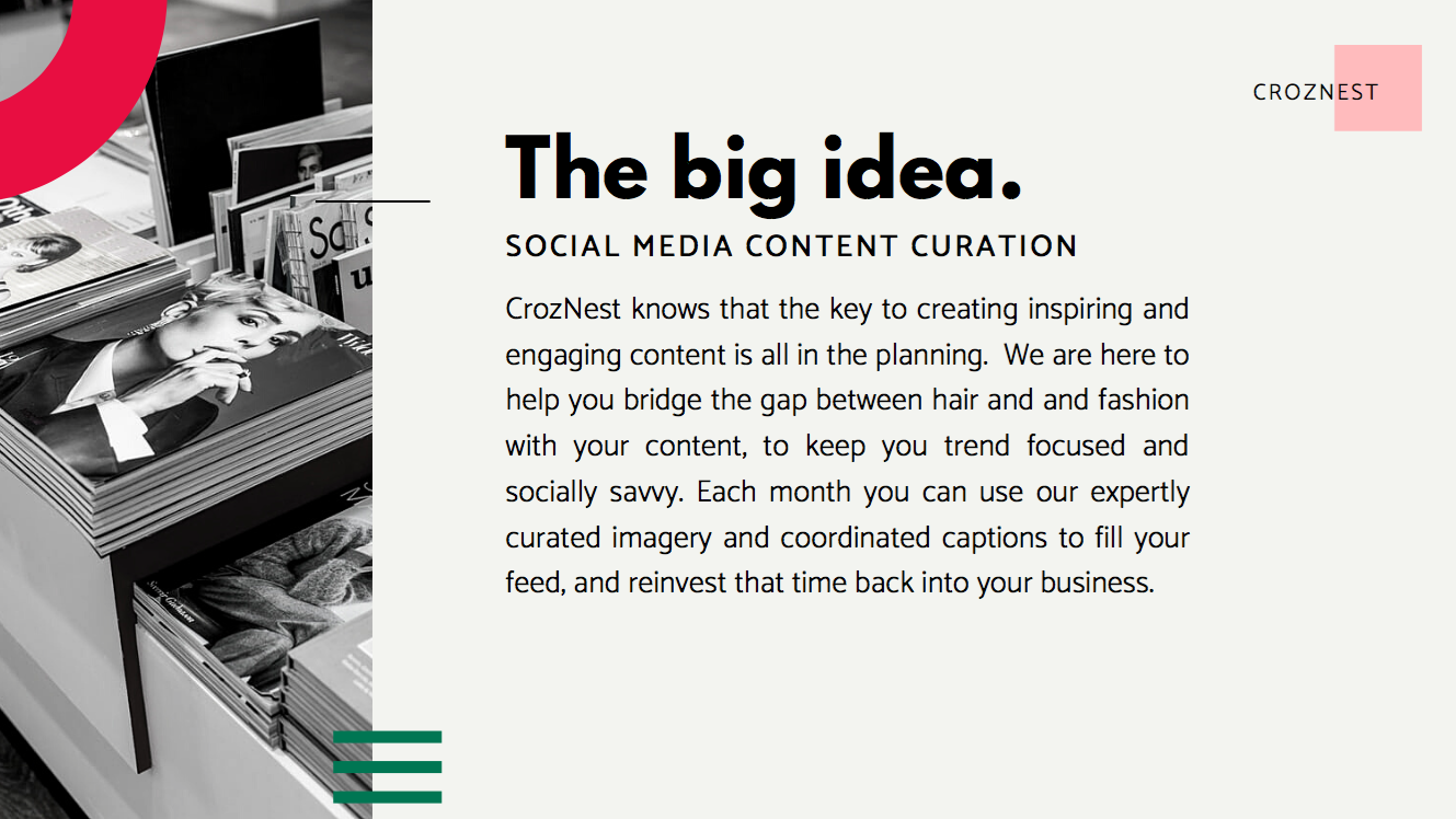 curated social content