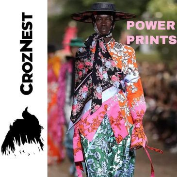 Power Prints Return to Fashion Design