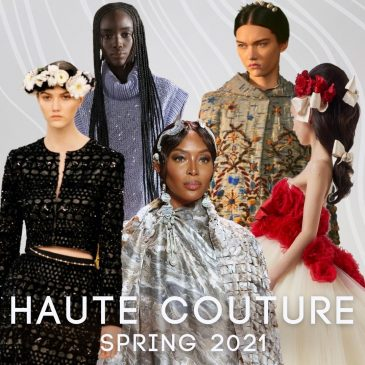 Spring Haute Couture 2021 Hair Trends