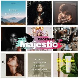 Majestic Package Curated Content – One Month